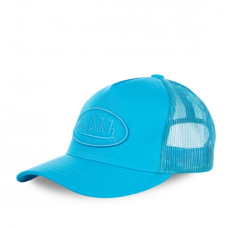 Casquette baseball femme filet Von Dutch BM Bleu