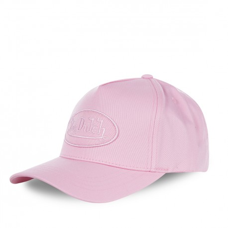 Casquette baseball femme Von Dutch RB rose