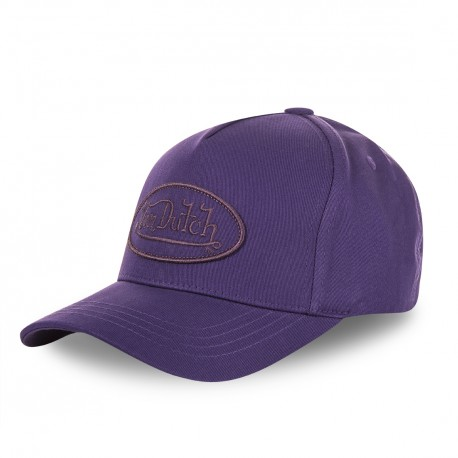 Purple Von Dutch women's baseball cap