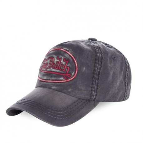 Casquette baseball homme Von Dutch Tim Gris