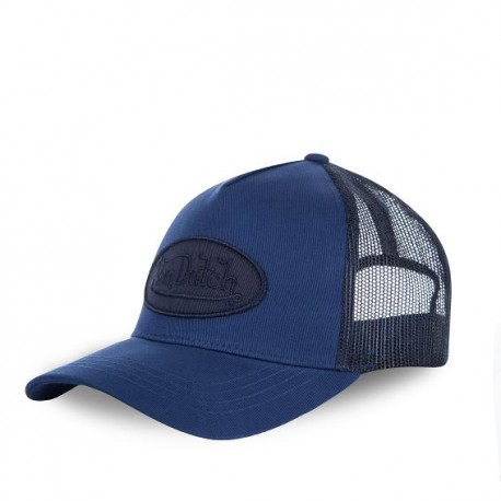 Casquette baseball femme filet Von Dutch BM Bleu Marine