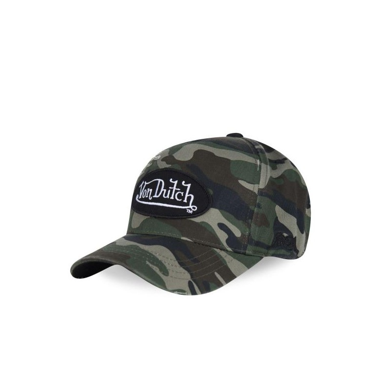 Casquette baseball, homme, Camouflage Used