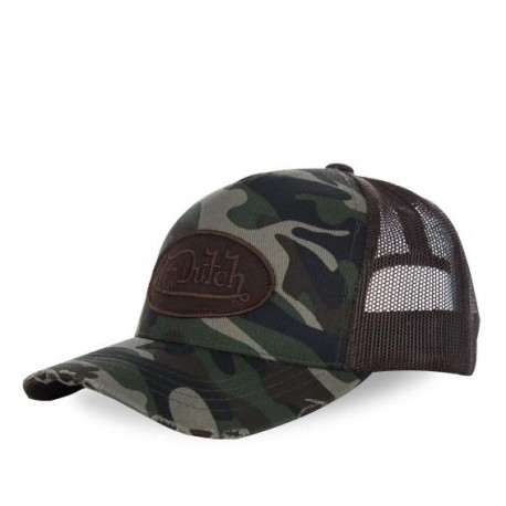 Casquette baseball homme, filet, Camouflage