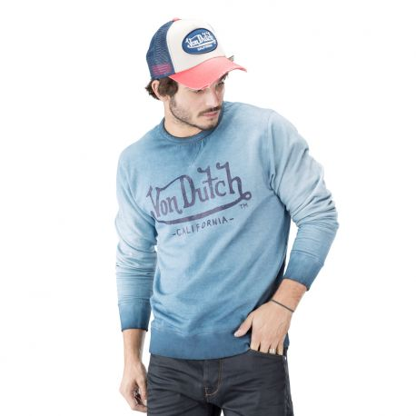 Sweat homme von dutch roller bleu