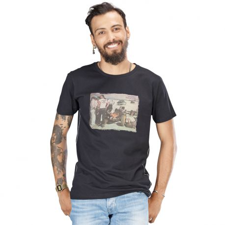 t shirt salt lake city black