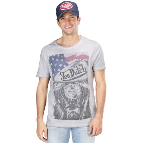 t shirt noir von dutch engine