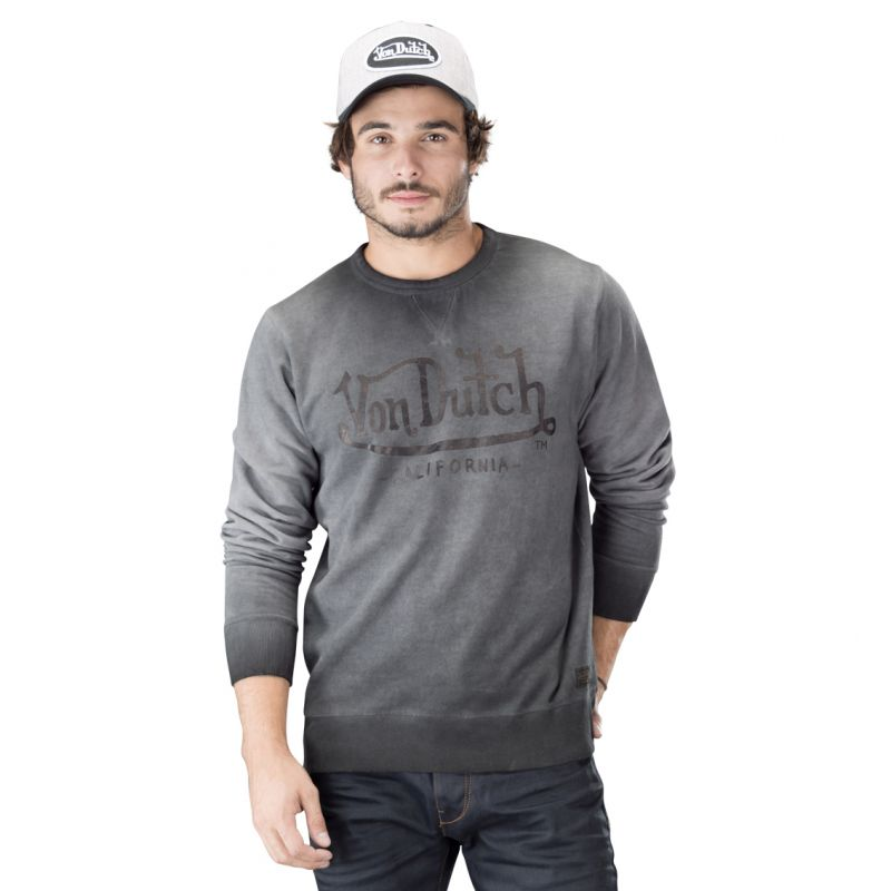Sweat homme von dutch roller gris