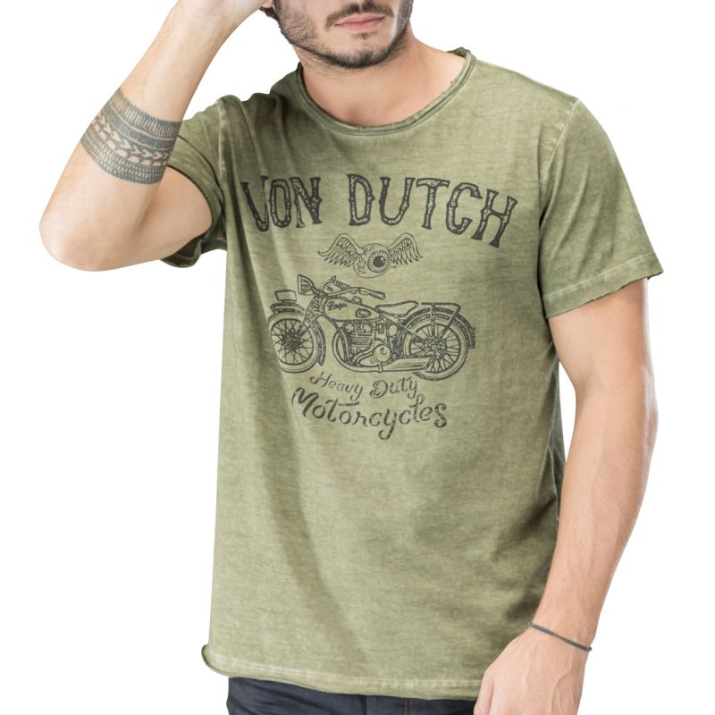 t shirt homme von dutch praga. Black Bedroom Furniture Sets. Home Design Ideas