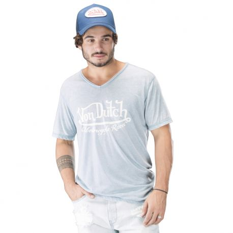 Tee-shirt homme, VON DUTCH COX Bleu