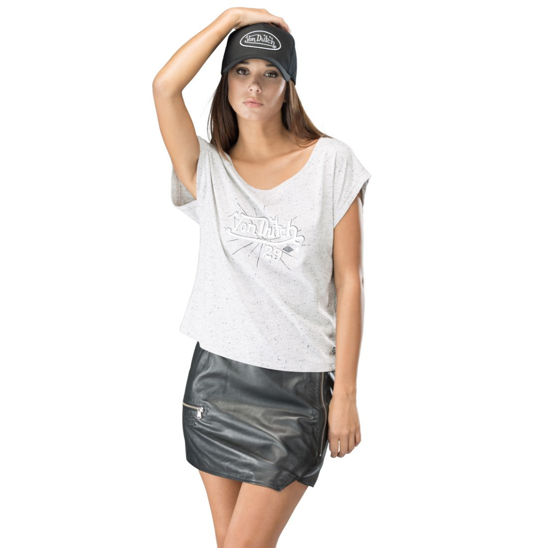 T-Shirt femme, ABY Blanc