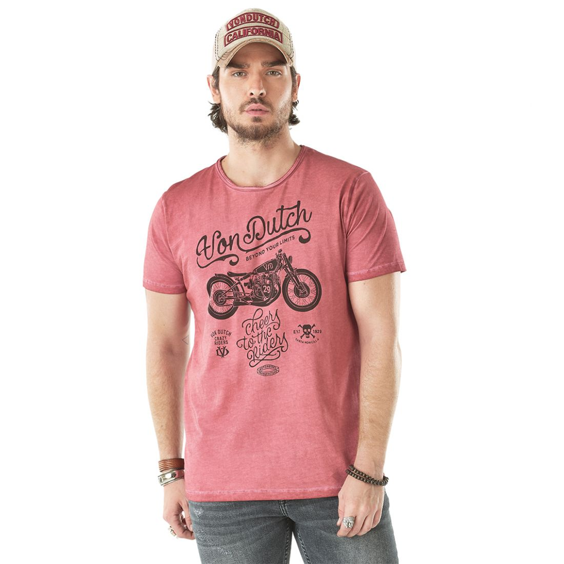 T-shirt homme CHEERS Rouge