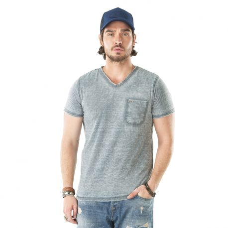 T-shirt homme CHRIS Anthracite