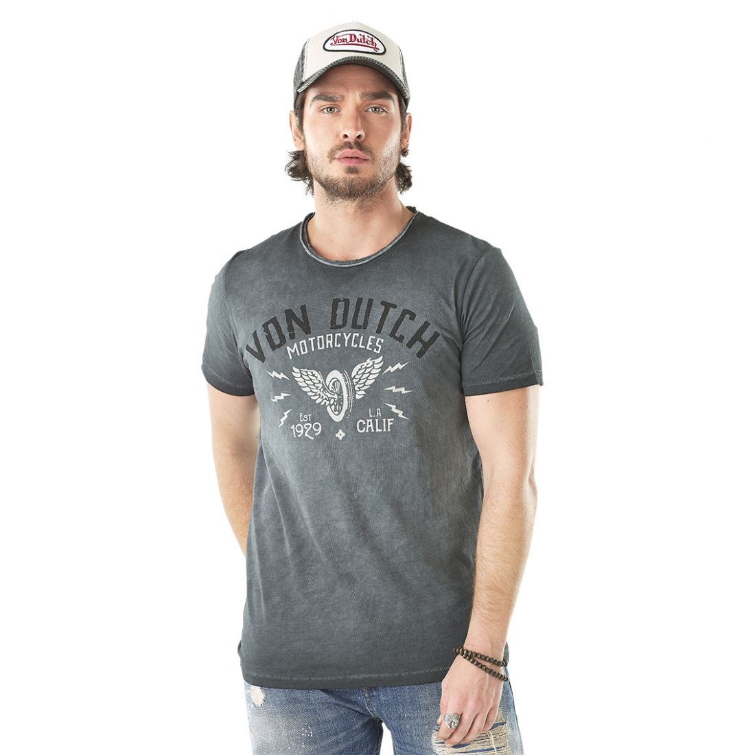 T-shirt homme BOB Anthracite