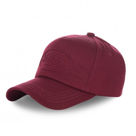 Casquette baseball homme Von Dutch Relief Rouge