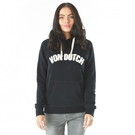 Women's Sweatshirt Von Dutch Donna Black