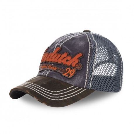 Casquette baseball filet homme Von Dutch Jason Bleu