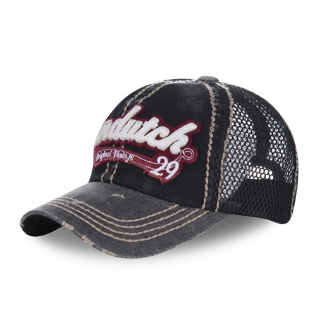 Casquette baseball filet homme Von Dutch Jason Noir
