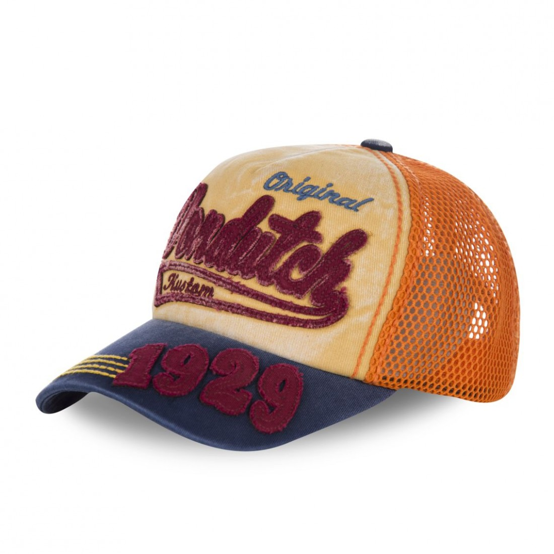 Casquette baseball filet homme Von Dutch John Orange
