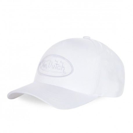 Casquette baseball femme filet Von Dutch Eva4 Blanc