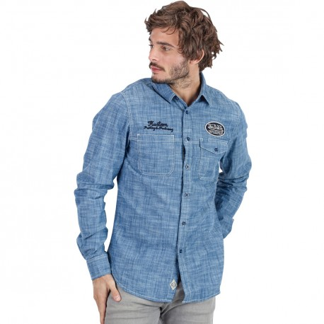 Chemise homme Blue Jeans