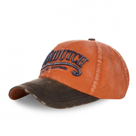 Casquette baseball homme Von Dutch Halton Orange