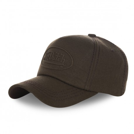 Casquette baseball homme Von Dutch Relief Marron