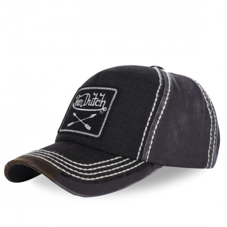 Casquette baseball homme Von Dutch Arrow noir