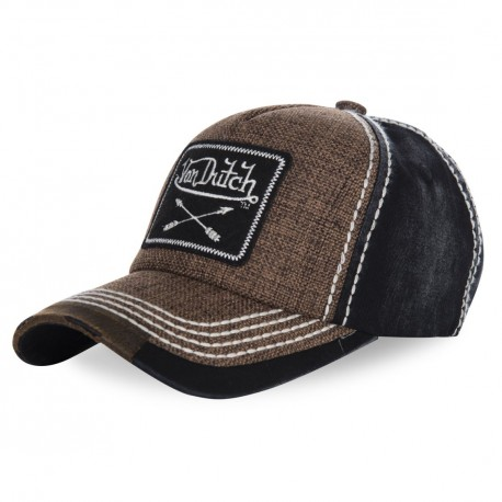 Casquette basaball homme Arrow Marron