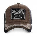 Casquette baseball homme Von Dutch Arrow Marron