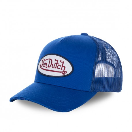 Casquette baseball filet Von Dutch Fresh Bleu