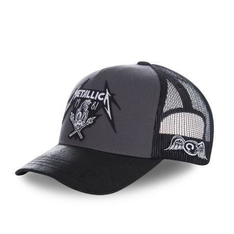 Casquette baseball filet Von Dutch Metallica Damage