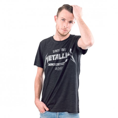 T-shirt homme Von Dutch Collection Metallica Modèle Master
