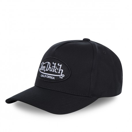 Casquette baseball Von Dutch Lofb California Noir