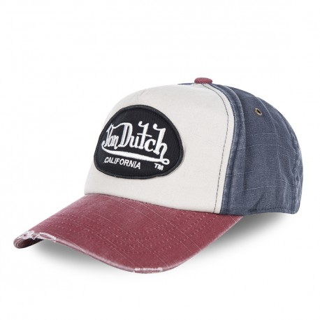 Red Von Dutch Jackbwr men's baseball cap
