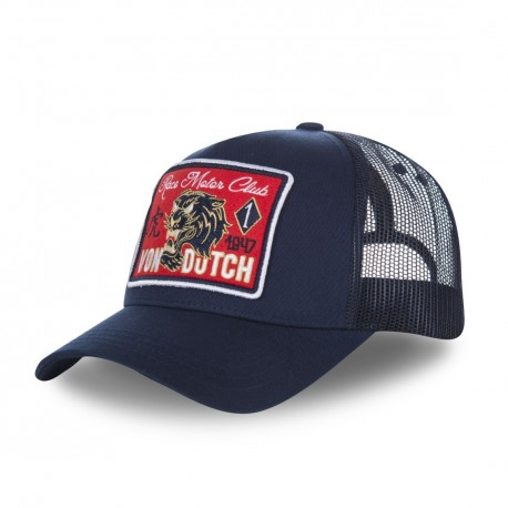 Casquette baseball homme filet Von Dutch Famous Bleu Marine