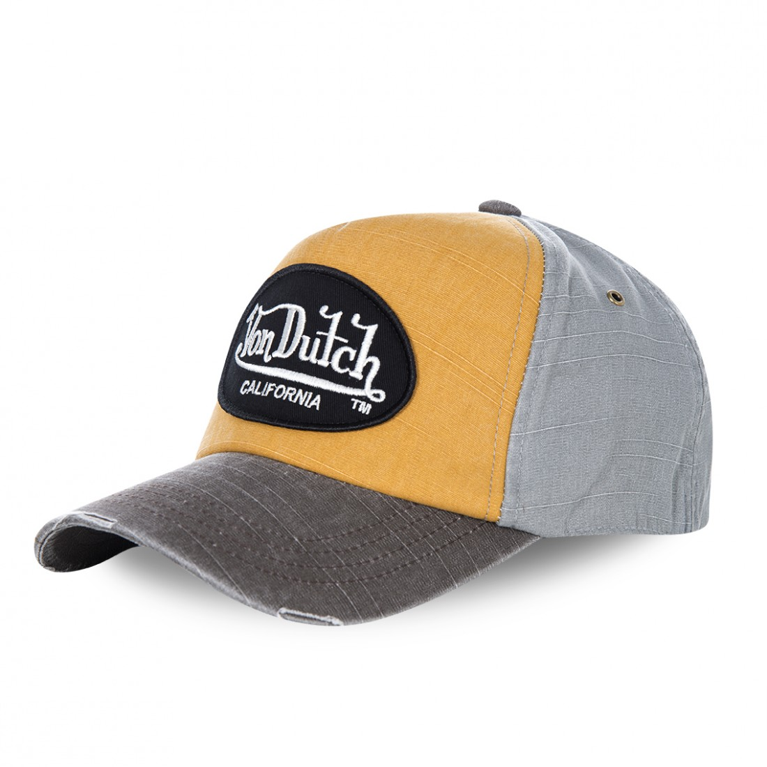 Casquette baseball homme Von Dutch Jack Orange