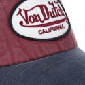 Casquette baseball homme Von Dutch Jack RB Rouge