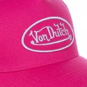 Casquette baseball femme filet Von Dutch BM Fushia