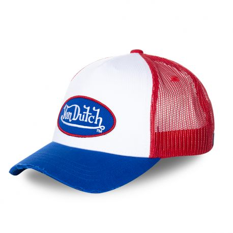 Casquette Trucker Homme Von Dutch Tricolore