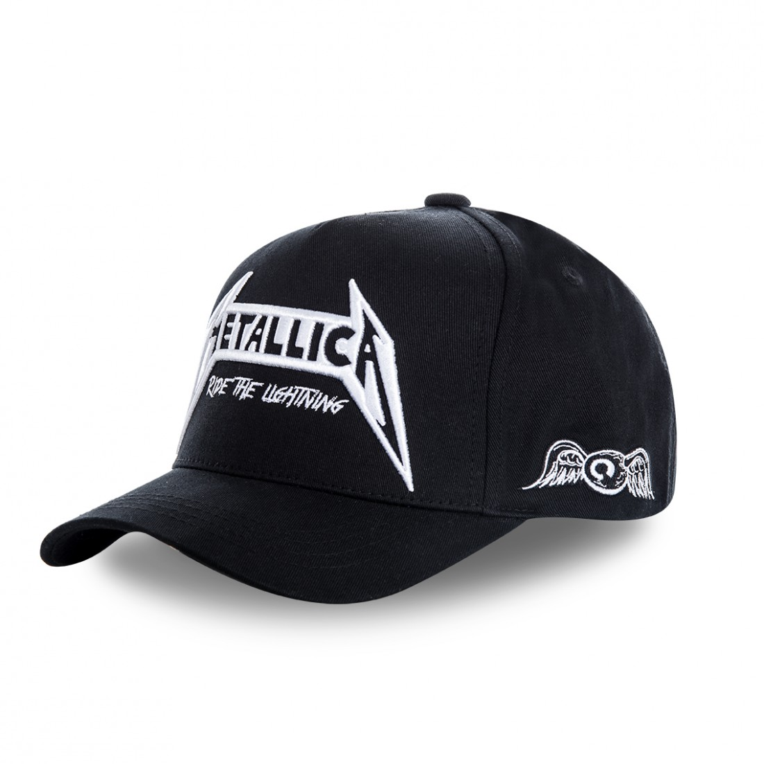 Casquette baseball homme Von Dutch Metallica Ride Noir