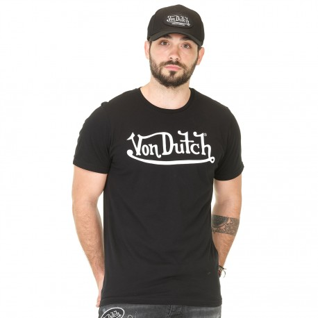 T-shirt Homme Von Dutch Best noir
