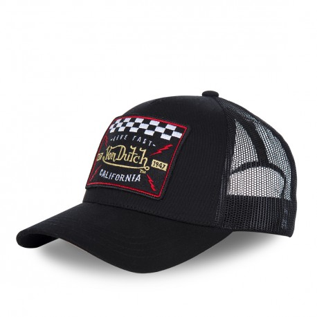 Casquette baseball Von Dutch Blacky 4 Noir
