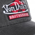 Grey Von Dutch Jack BRB Men's Baseball Cap