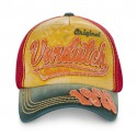 Casquette baseball filet homme Von Dutch John Jaune