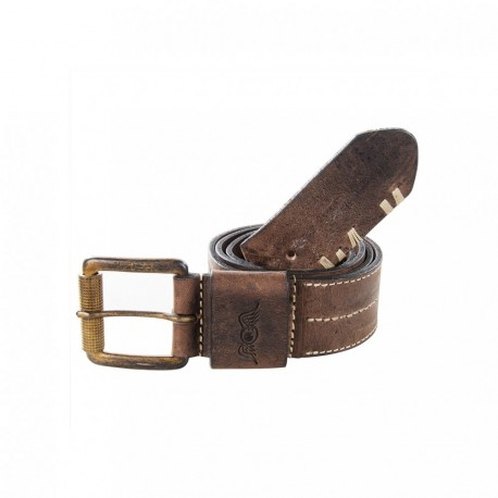 ceinture cuir marron flying eye