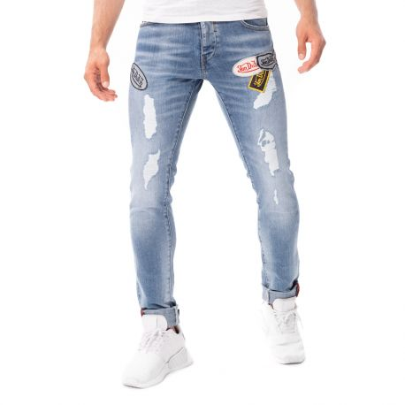 Jean's Homme Von Dutch Ron Used Bleu