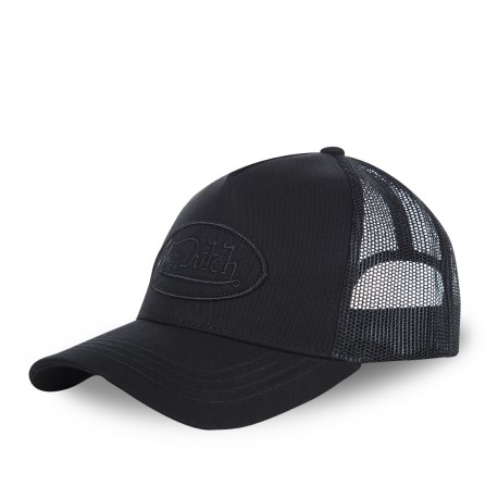 Black Von Dutch Lofb mesh baseball cap