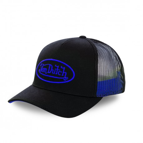 Dark Blue Von Dutch Neon baseball cap