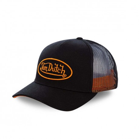 Casquette baseball Von Dutch Neon Orange