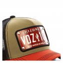 Casquette Baseball Von Dutch Plate Arizona Vert Kaki
